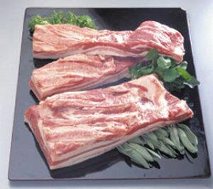 豚バラブロックハーフ(2kg) 1ブロック2kg(冷凍食品 角煮 ポトフ 業務用食材 ポーク 豚肉)