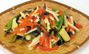中華野菜ミックス 500g(冷凍食品 筍 人参 インゲン ヤングコーン マッシュルーム 業務用食材 カット野菜 ミックス 業務用)