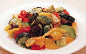カゴメ)菜園風グリル野菜のミックス 600g(冷凍食品 ズッキーニ なす 赤パプリカ 黄パプリカ 業務用 冷凍 カット野菜 ミックス)