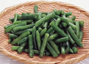 インゲンカット (B) 500g (約30〜70mm) 119001(人気商品 簡単 時短 冷凍 野菜 やさい 食材)