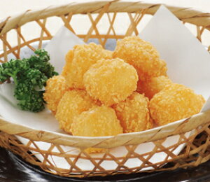 ジャガ丸チーズカリカリ 500g (約85個入) 5946(揚物 おつまみ じゃがいも チーズ 野菜 惣菜)