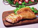 【学園祭食材】【イベント食材】JTフーズ)若鶏のスモークチキンモモ 1枚約200g(業務用食材 スモークチキン 洋食 肉料理 冷凍食品)