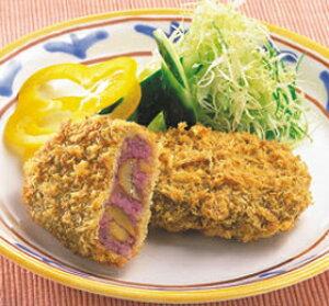 むらさきいもと甘栗のコロッケ 75g×5個入 36712(くり 紫いも コロッケ 洋食 肉料理)