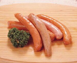 コスモフーズ)バラエティーウインナー 5本入(5種の味)(約100g)(冷凍食品 朝食 居酒屋 業務用食材 ウインナー 洋食)