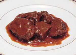 牛ホホ肉赤ワイン煮1食200g(冷凍食品 手作り感 簡単 便利 業務用食材 赤ワイン煮 洋食)
