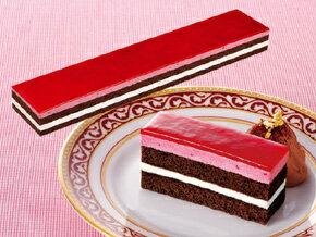 味の素)フリーカットケーキ サワーチェリー 430g(冷凍食品 バイキング パーティー ムース 業務用食材 冷凍 洋菓子 ケーキ)