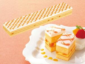 フリーカットケーキ マンゴー 475g (カットなし) 12580(バイキング パーティー サンドケーキ ムース 洋菓子 スイーツ デザート)