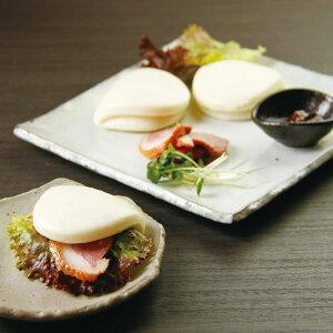 友盛貿易)ミニ割パン 約30g×20個入(ハンバーガー ミニタイプ 角煮まん)