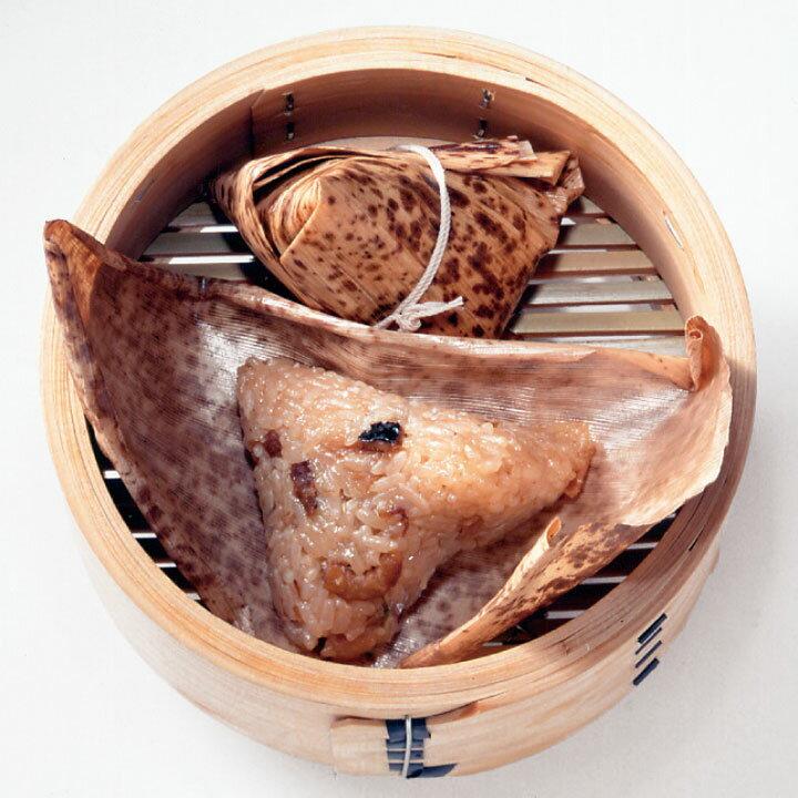 【新商品】テーブルマーク)小ちまき(308肉粽ロウツォン) 約60g×25個入(冷凍食品 ロウツォン 竹皮 チマキ 中華ちまき)