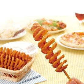 【新商品】日本ハム)ハリケーンポテト 325g(約65g×5本)(冷凍食品 一品 揚物 スナック フライドポテト フライドポテト)