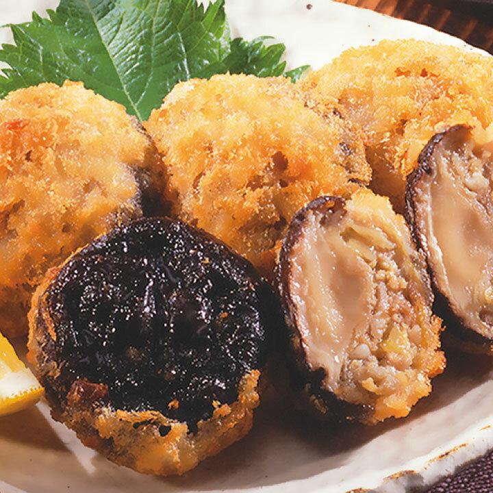 味の素)椎茸肉詰めフライ(豚)約30g×30個(冷凍食品 一品 惣菜 弁当 揚物 しいたけ シイイタケ)