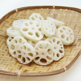 交洋)レンコンスライス(S) 500g(冷凍食品 れんこん 蓮根 カット野菜 冷凍野菜 時短)