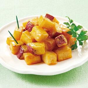 ニチレイ)キャラメルミニおさつ(紅はるか使用) 500g(冷凍食品 業務用 さつまいも サツマイモ 薩摩芋 さつま芋 スィーツ)