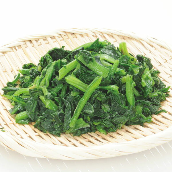 ニッスイ)宮崎産ほうれん草(自然解凍 生食可)IQF 500g(ほうれんそう ホウレンソウ 緑黄色野菜 バラ凍結 IQF)