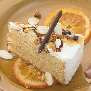 五洋食品)キャラメルナッツショート 396g(12個入)(洋菓子 ケーキ デザート スイーツ バイキング パーティー ブッフェ)