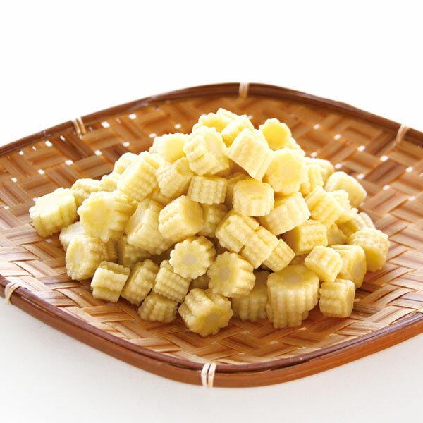 輸入)ヤングコーンカット(ベトナム産) 500g(冷凍野菜 カット野菜 簡単調理)