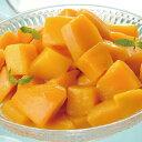 味冷)完熟マンダリンマンゴー(カット済み)500g(芒果 フルーツ トッピング かき氷 デザート イベントトッピング・フ…