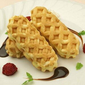 原宿ドックミニ (チーズCa) 40g×40個入 4396(ワッフル スナック おやつ 冷凍 洋菓子 デザート)