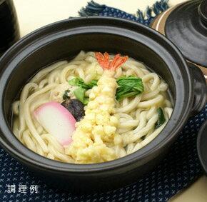 具付麺 えび天鍋焼うどんセット 1食 300g (麺200g) 13646(関西風うどんだし 即席麺 海老天 饂飩 レンジ)