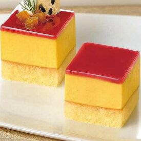 味の素)カット済ケーキ 安納芋 367g箱(49個)(デザート スイーツ 洋菓子 バイキング ブッフェ)