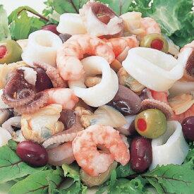ニッスイ)ボイルシーフードミックス(生食用)500g(冷凍食品 サラダ パスタ 業務用食材 シーフード ミックス)