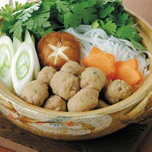 コックフーズ)紅茶鴨つくねボール 500g(約50個入)(冷凍食品 煮物 鍋物 業務用食材 鶏肉 鳥肉 とり肉 とりにく 肉 食材)