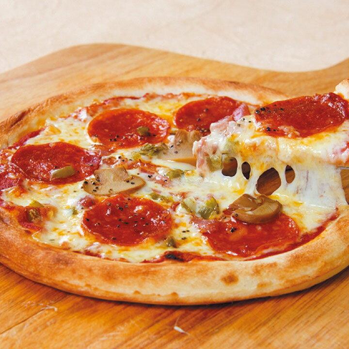 ジェーシーコムサ)ナポリ風ミックスピザ 800 1個約19cm(冷凍食品 ぴざ 居酒屋 パーティ 業務用食材 ピザ 洋食)