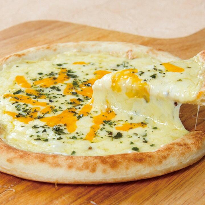 ジェーシーコムサ)ナポリ風5種のチーズピザ 800 約19cm(冷凍食品 ぴざ 居酒屋 パーティ 業務用食材 ピザ 洋食)