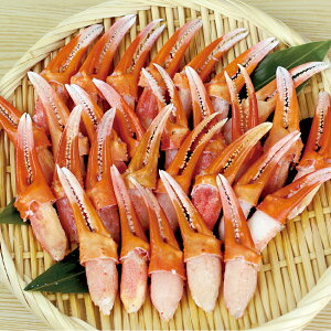 日本海冷凍魚 ) 紅 ズワイ 爪 肉 ( L ) 500g ( 23〜28本入 ) 販売期間 10月-2月(自然素材 鍋具材 鍋メイン 蟹 カニ かに 鍋食材 鍋食材 海鮮)