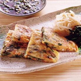 MCC)ニラチヂミ 120g×5枚(冷凍食品 韓国 粉物 粉もの 粉モノ ちぢみ おつまみ)