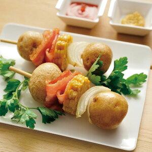 北海道産 S玉 皮つきポテト 1kg 12629(簡単 時短 煮物 じゃがいも ジャガイモ レンジ)