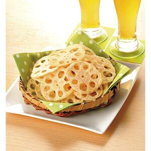 味の素冷凍)れんこんチップス 500g袋(冷凍食品 揚物 おつまみ フライ レンコン 蓮根 れん根)