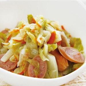 キャベツとウインナーのソテー 500g (固形 約400g) 16113(一品 野菜 惣菜 洋風調理 洋食 野菜料理 オードブル)