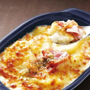 ポテトベーコングラタン 200g 17088(電子レンジ 惣菜 一品 じゅがいも チーズ ホワイトクリーム)