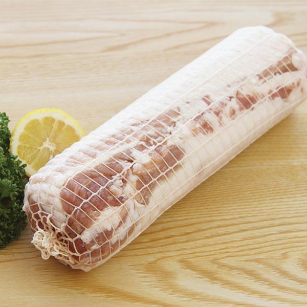 【新商品】スターゼン)ネット巻豚バラ 1.1kg(冷凍食品 焼肉 炒め物 ぶたばら)