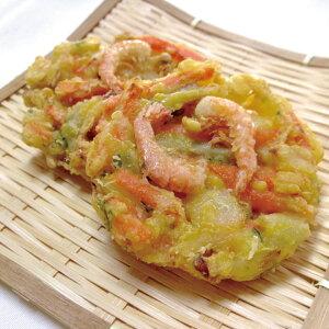 ニッスイ)野菜がおいしいえびかき揚げ 300g約50g×6個(冷凍食品 揚物 おつまみ かきあげ やさい 海老)