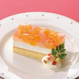 味の素冷凍)フリーカットケーキ アップル&ピーチ 520g(冷凍食品 りんご 林檎 白桃 味の素 ケーキ デザート)