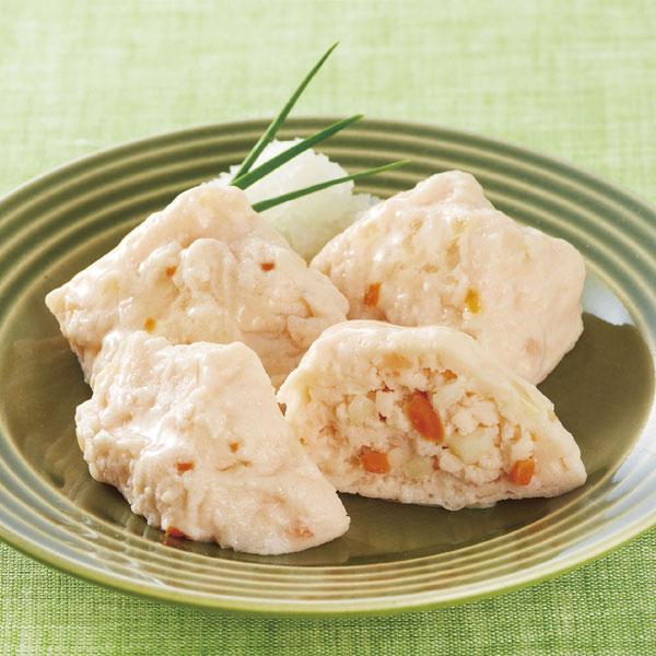 ニチレイ)かにのふわふわ豆腐 500g(20個入)(冷凍食品 弁当 カニ 和食 惣菜 一品 とうふ 2018年新商品)