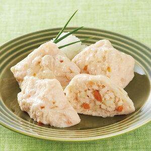 ニチレイ)かにのふわふわ豆腐 500g(20個入)(冷凍食品 弁当 カニ 和食 惣菜 一品 とうふ)