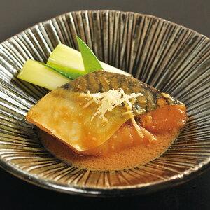 大冷)楽らく調味骨なしさば(生)味噌煮375g(5枚入)(冷凍食品 一品 惣菜 サバ 鯖 魚料理 和食)