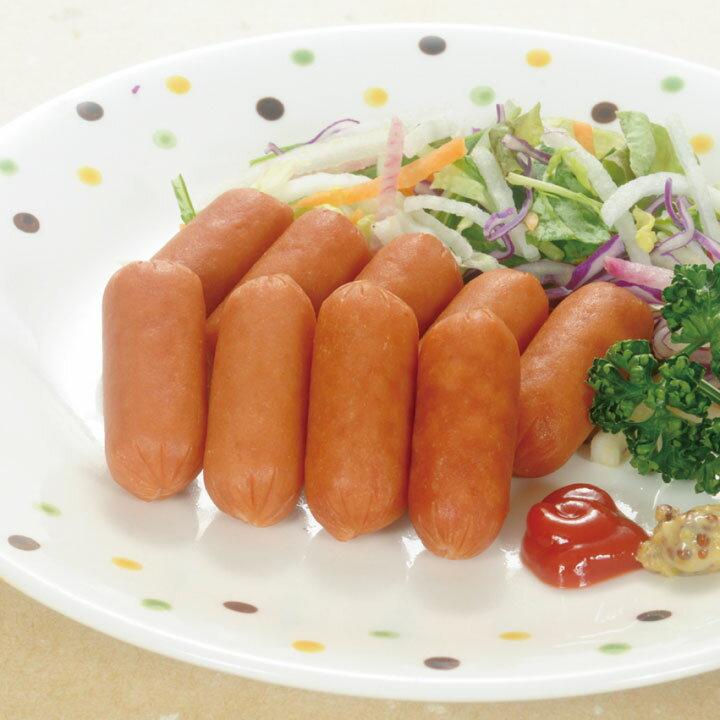 日本ハム)お弁当用皮なしウインナー 500g(冷凍食品 子供 幼稚園 洋風調理 洋食 お弁当 肉料理 2018年新商品 洋食一品)