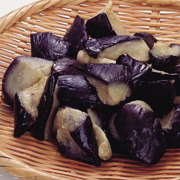 揚げ茄子乱切り 500g(冷凍食品 簡単 時短 野菜 カット野菜 ベジタブル 食材)
