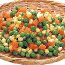 輸入)ミックスベジタブル 1kg(冷凍食品 人参 コーン グリーンピース ミックス野菜 ミックス 2018年新商品 野菜)