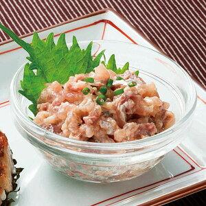 日本水産)あじたたきなめろう 200g(冷凍食品 小鉢 一品 アジ 鯵 タタキ ナメロウ 魚介類)