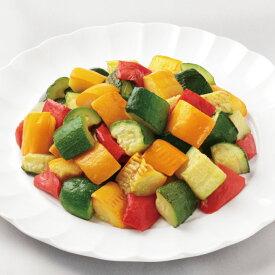 農園風 イタリアンミックス (ごろごろカット) 1kg 18374(ズッキーニ 黄ズッキーニ 赤パプリカ ミックス野菜 イタリア 野菜)