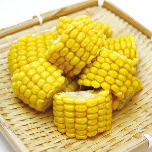 交洋)カットコーンハーフ 1.2kg(約40個入)(冷凍食品 簡単 時短 便利 冷凍野菜 カット野菜 とうもろこし 2018年新商品 野菜)