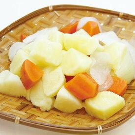 カレー野菜ミックス 500g 18379(じゃがいも 玉葱 人参 ミックス野菜 カレー 野菜)