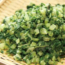 そのまま使える葉だいこん 500g 18405(IQF バラ凍結 時短 便利 冷凍野菜 カット 大根 ダイコン 野菜)