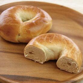 バスコフーズ)バスコベーグル プレーン 約120g×6個(冷凍食品 パン 軽食 朝食 デニッシュ ベーグル 洋食 朝食 2018年新商品 オードブル)