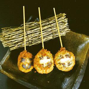 八幡フーズ)しいたけ海鮮すり身串 約30g×30(冷凍食品 串揚 くし揚げ 和風調理食品 和食揚げ物 串揚げ)